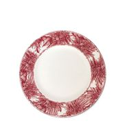 Poinsettia Salad Plate