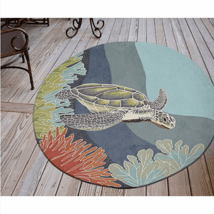 Ravella Akumal Ocean Indoor/Outdoor Rug
