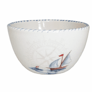 Sailboat Chowder/Soup/Salad/Dessert/Dipping Bowl (set of 6)