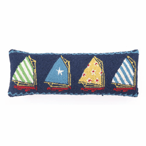 Sails Hooked Pillow