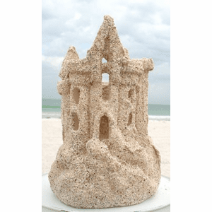Sandcastle Candle Holder - Small