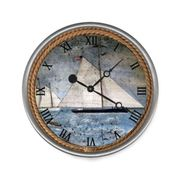 Schooner Wall Clock