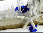 Sea Glass and Ice Photo