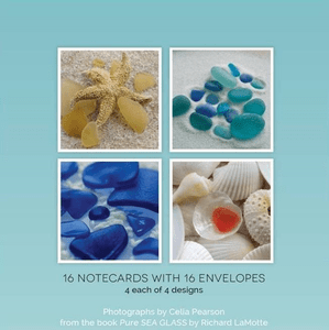 Sea Glass Boxed Note Cards - Series I