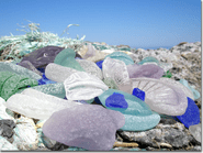 Sea Glass on the Beach Photo