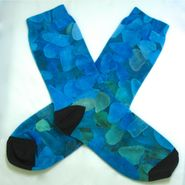 Sea Glass Socks