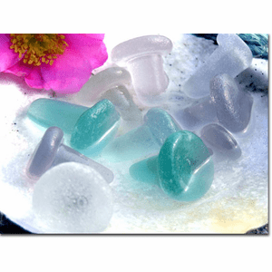 Sea Glass Stoppers Photo