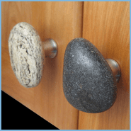 Sea Stones Knobs & Hooks
