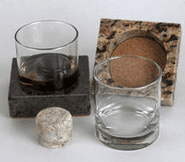 Sea Stones Man Coasters, Tumblers & Drink Chillers