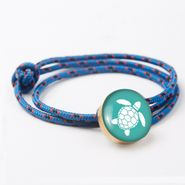 Sea Turtle Bronze Rope Bracelet