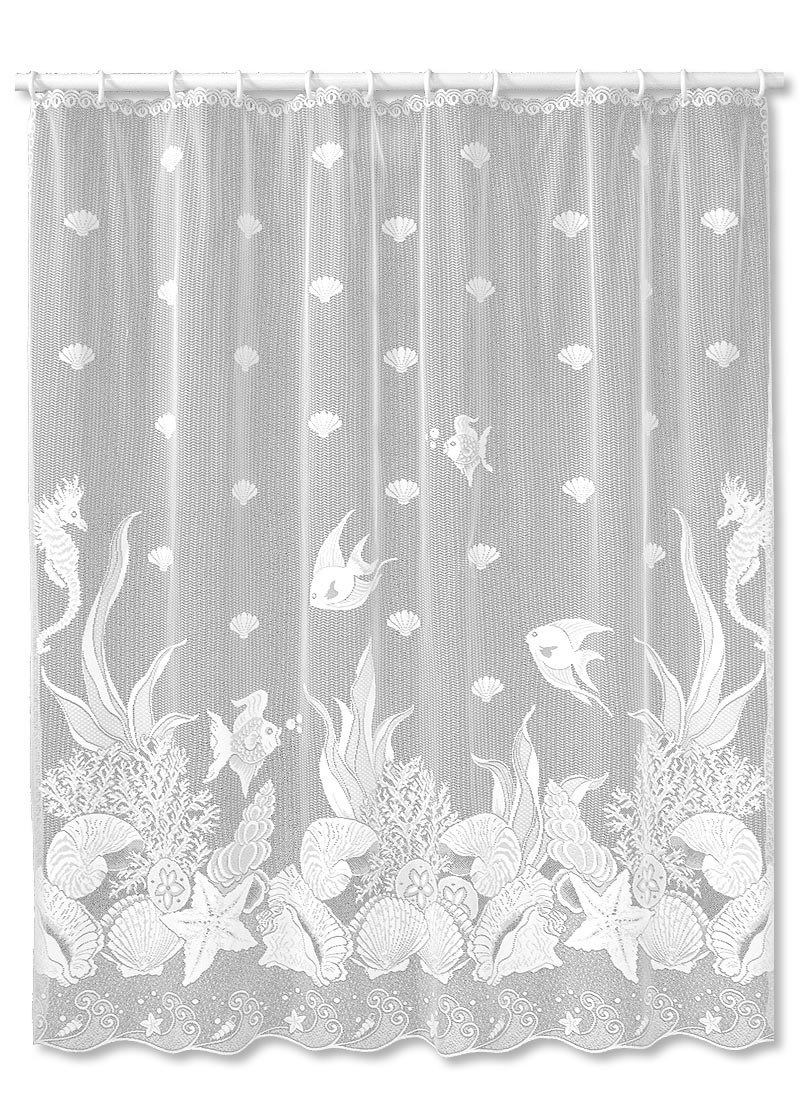 Heritage Lace Seascape Shower Curtain Coastal Gifts