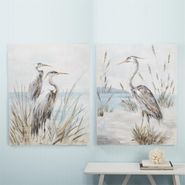 Shore Bird Wall Art - S/2