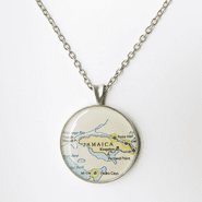 Small Chart Necklace
