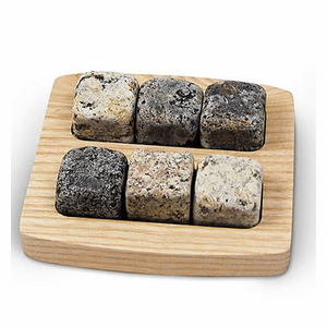 Square On the Rocks with Tray