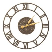 Sunface Floating Ring Indoor Outdoor Wall Clock