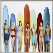 Surfers Wall Art