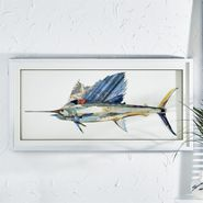 Swordfish Collage Wall Art