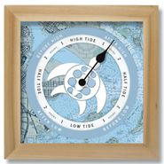 Turtle Nautical Chart Custom Tide Clock