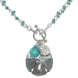 Two-in-One Sand Dollar Necklace