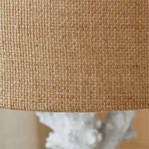 White Coral Table Lamp - S/2
