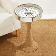 Working Compass Accent Table