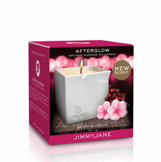 Afterglow Massage Oil Candle - Berry Blossom 4.5 oz