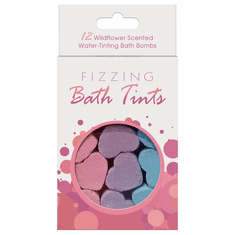 Fizzing Bath Tints Scented - Wildflower 12 pack