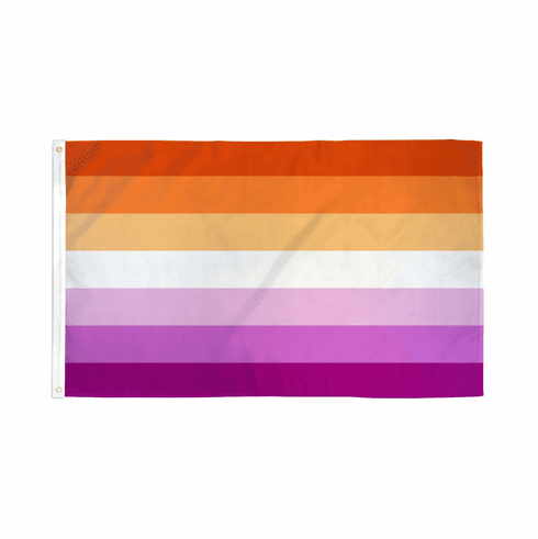 Flags - Poly - Sunset Lesbian 3 x 5