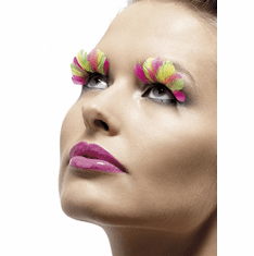 Multi-Colored Eyelashes