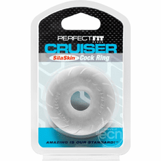 Perfect Fit Cruiser Cock Ring - Clear