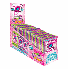 Popping Rock Candy Fruit Stand - Assorted 3.2 oz