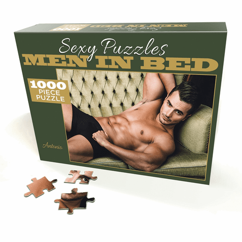 Sexy Puzzles - Men in Bed - Antonio 1000pc