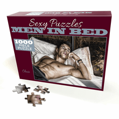 Sexy Puzzles - Men in Bed - Chase 1000pc