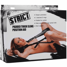 Strict Padded Thigh Sling Position Aid - Black