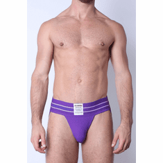 Tight End JockStrap - Purple M