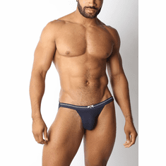 Tight End Swimmer Jock Strap - Navy L