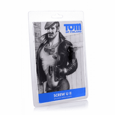 Tom Of Finland Bro's Pins Magnetic Nipple Clamps - Grey Magnetic