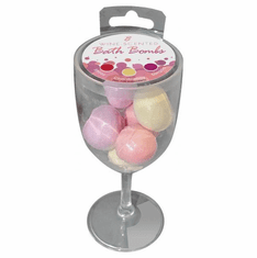 Wine Scented Bath Bombs - Assorted 8 pack