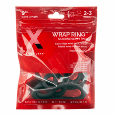 Xplay Silicone 9 Inch Thin Wrap Ring - Black
