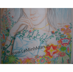 Lilly The Person And Flower Original