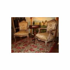 Two Louis XV seats