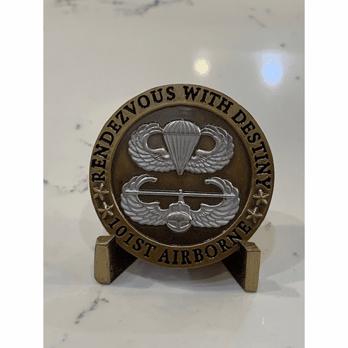 101st Airborne Division - Rendezvous with Destiny Coin