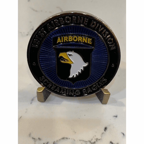101st Airborne Division Screaming Eagles Coin