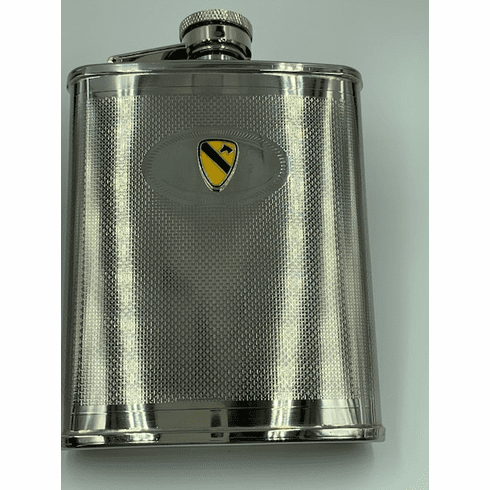 1st Cavalry Division Flask