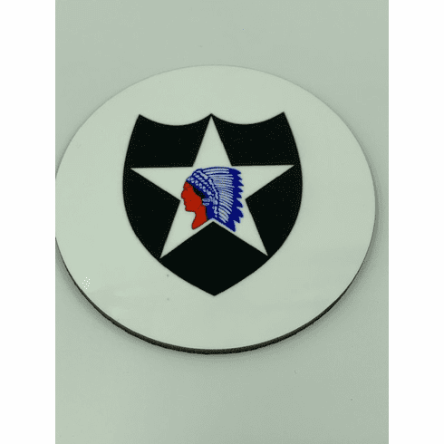 2nd Infantry Division Coaster