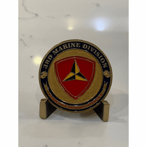 2nd Marine Division Coin