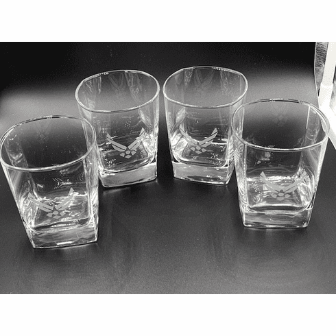 4 Air Force Wing Rock Glasses