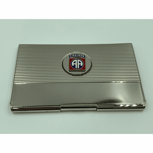 82nd Airborne Business Card Case
