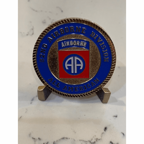 82nd Airborne In Air On Land Coin