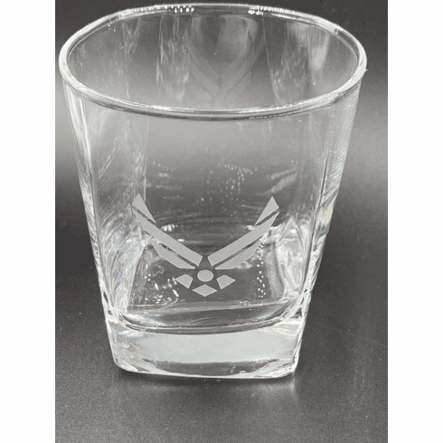 Air Force Wing Rock Glass